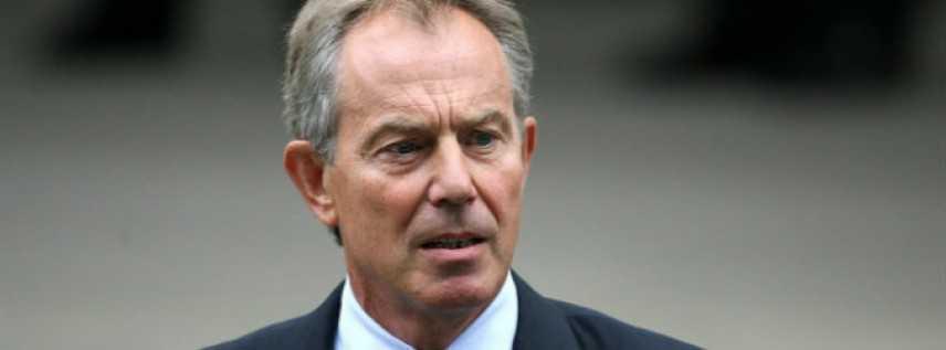 Gb, il ritorno in campo di Tony Blair