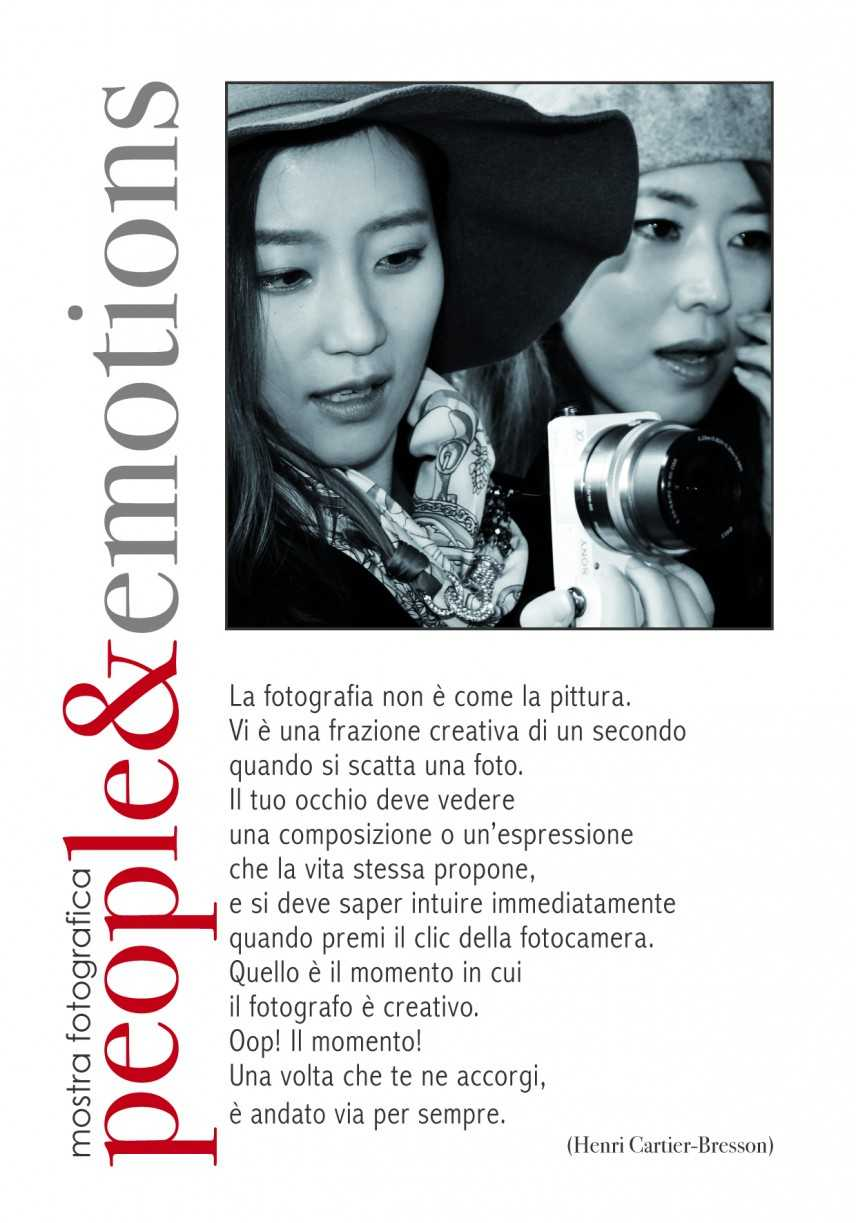 Mostra Fotografica People &Emotions