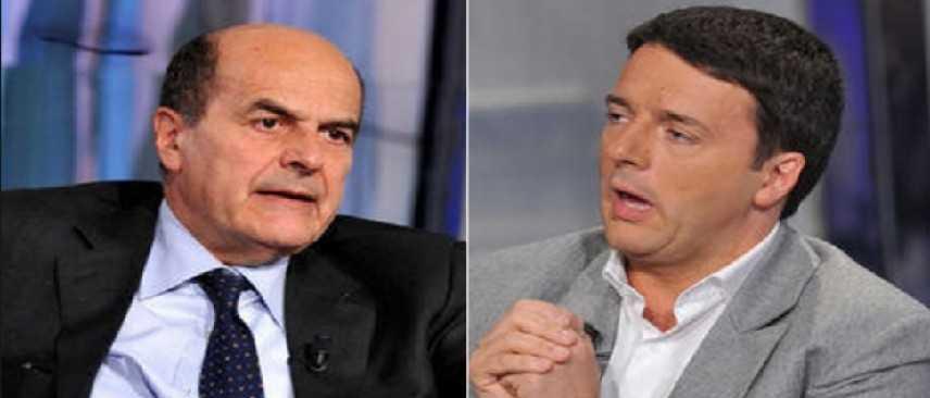 """Bersani contro Renzi: """"Pericoloso l'incrocio referendum e Italicum"""""""