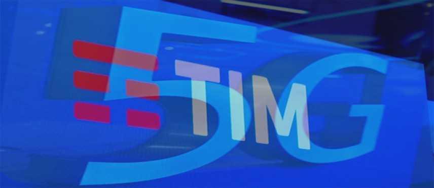 Tim: Connessione dati 5G oltre 500 Mbps su rete Lte