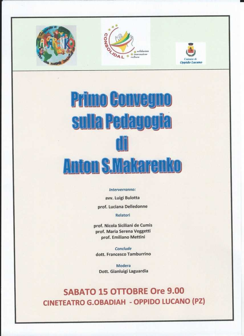 Convegno sulla pedagogia di Anton S. Makarenko