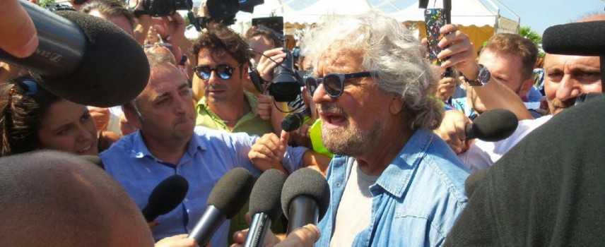 """M5S a Palermo. Grillo: """"Capo di gioverno? Lo farò se necessario"""""""