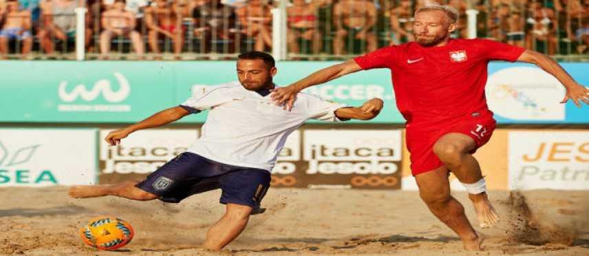 Fifa Beach Soccer World Cup - Europe Qualifier: Italia sfortunata, ko con la Polonia