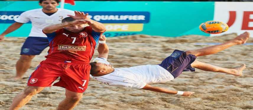 Fifa Beach Soccer World Cup - Europe Qualifier: l'Italia abbatte la rep. Ceca, va verso il mondiale