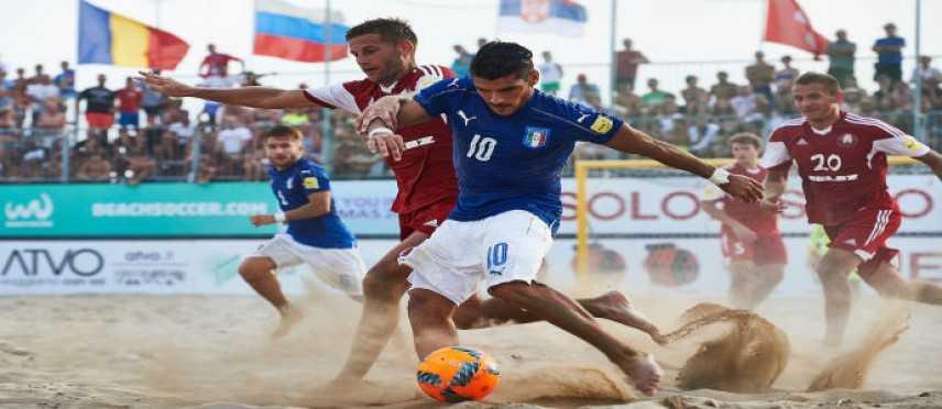 Fifa Beach Soccer World Cup - Europe Qualifier: battuta la Bielorussia per 2-1, Italia prima
