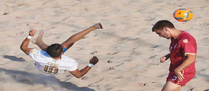 Fifa Beach Soccer World Cup - Europe Qualifier: ok Italia , 8-4 alla Serbia