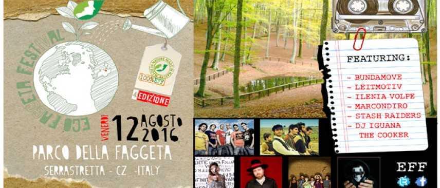 Il 12 Agosto ritorna l'Ecofaggeta Festival