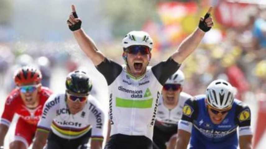 Tour de France 2016, Mark Cavendish si aggiudica la prima tappa