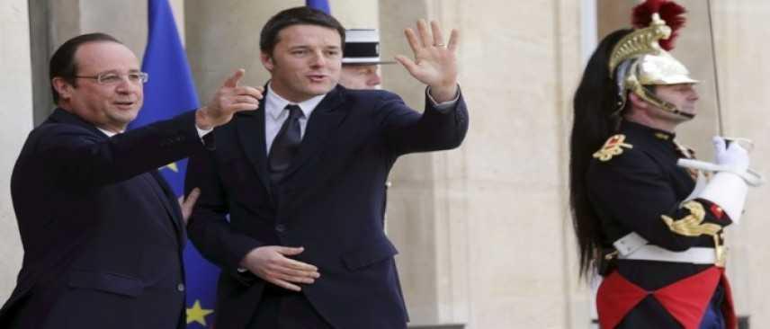 Brexit, incontro Renzi e Hollande per definire strategia comune