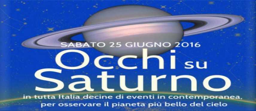 """Domani """"Occhi su Saturno"""", 120 eventi in tutta Italia per ammirare i pianeti e le stelle"""