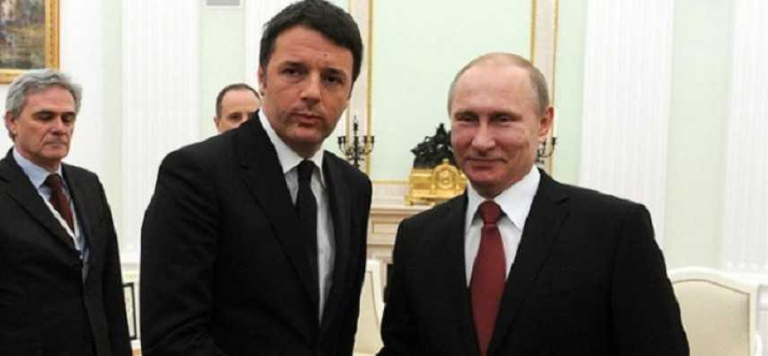 San Pietroburgo: incontro fra Renzi e Vladimir Putin