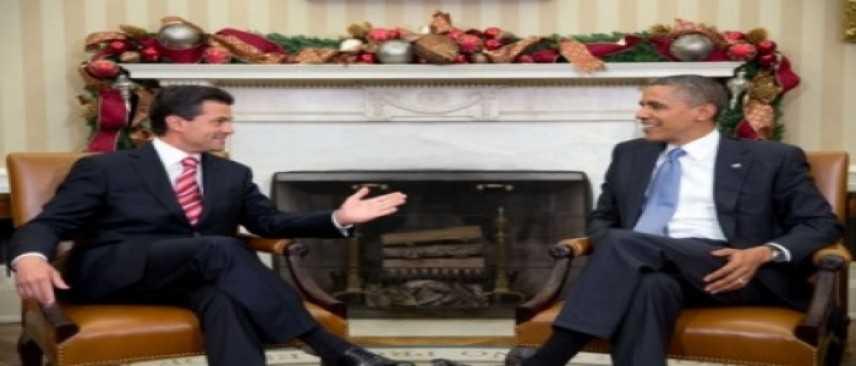 """Usa-Messico, Obama e Pena Nieto: """"Impegno comune per immigrazione irregolare"""""""