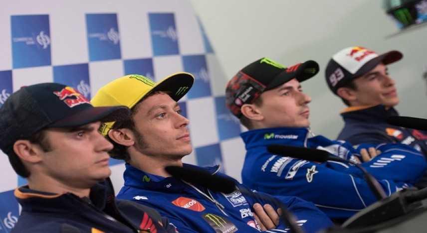 """MotoGp, Rossi: """"Austin circuito difficile ma voglio salire sul podio"""". Marquez: """"pista favorevole"""""""