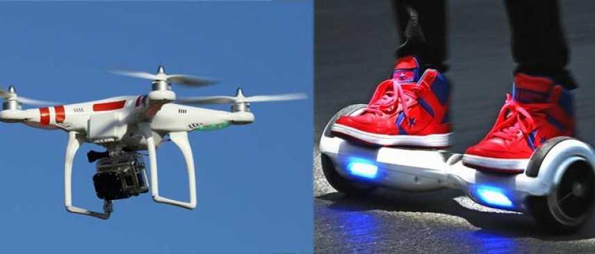 Le nuove tecnologie: hoverboard e droni normative e rivoluzione