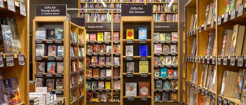 Amazon progetta di aprire 400 librerie fisiche
