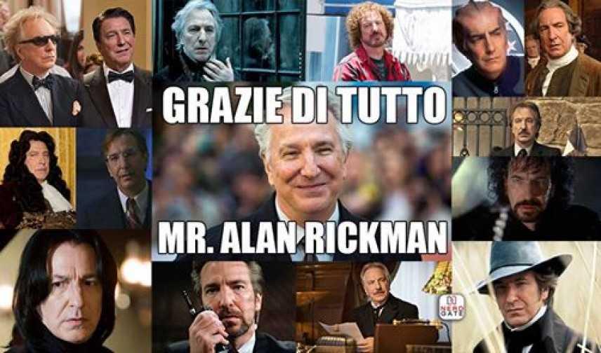 Il firmamento del cinema ha perso una stella: Alan Rickman