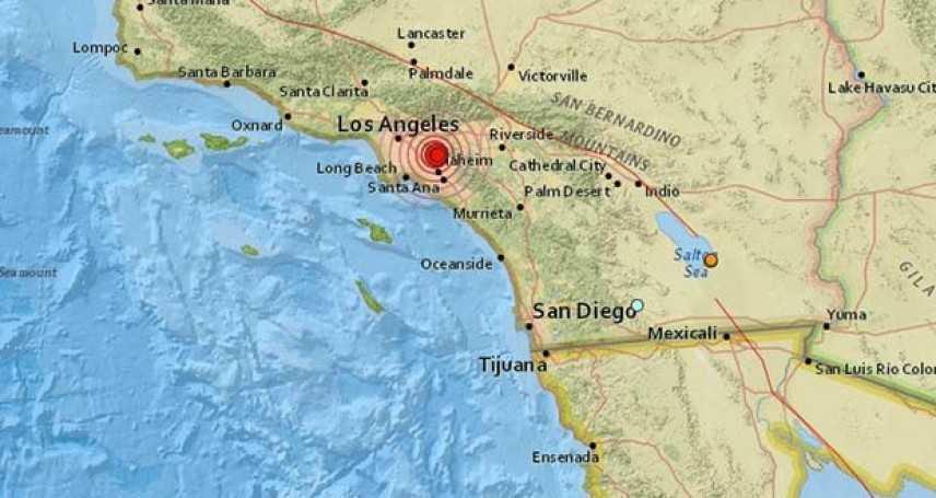 Trema la terra a Los Angeles: avvertita scossa di magnitudo 4.4