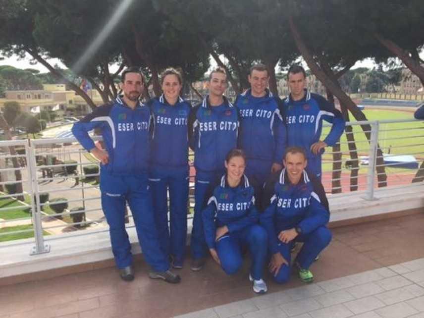 Il Centro Sportivo Esercito di Courmayeur società Campione d'Italia 2015
