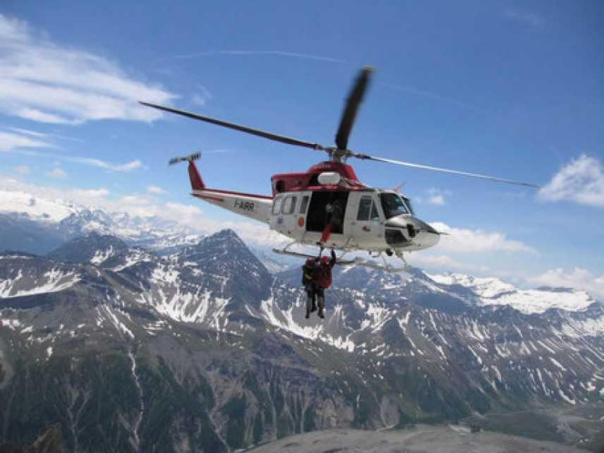 Aliante precipita sul Monte Bianco, due morti