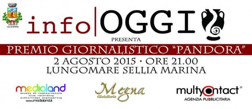 """II Edizione Premio Giornalistico """"Pandora"""", domani la conferenza stampa di presentazione"""
