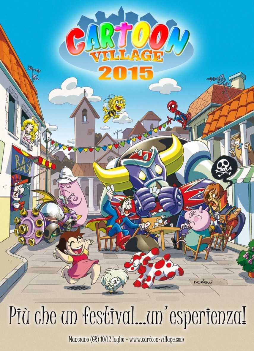 Cartoon Village: la Capitale della Fantasia