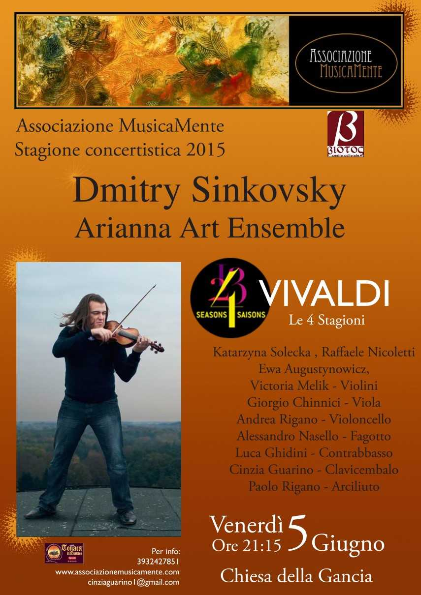 Dmitry Dinkovsky e Arianna Art Ensemble