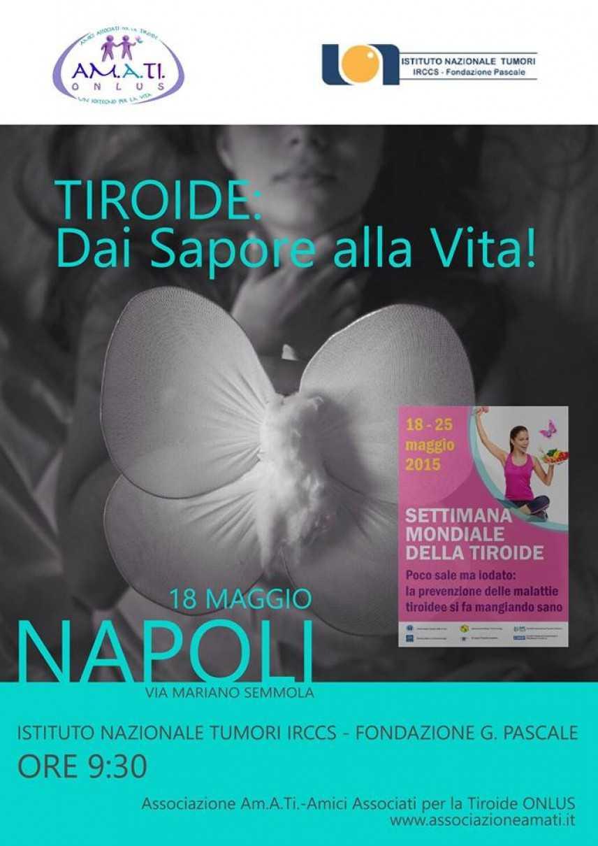 Al Pascale di Napoli la Settimana Mondiale della Tiroide