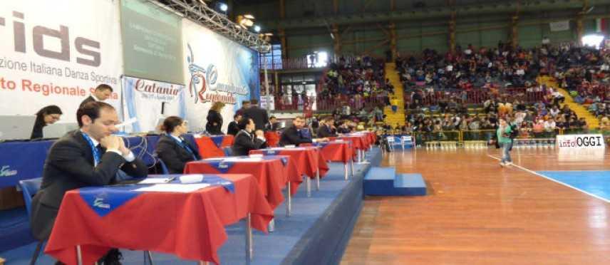 Campionato regionale di Danza Sportiva FIDS Domani sabato 25 e 26 aprile al PalaGhiaccio (Ct)