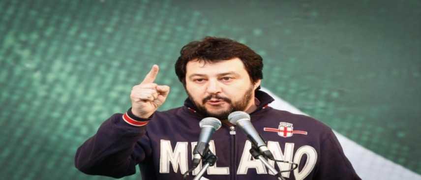 """Matteo Salvini, dure critiche allo Stato italiano: """"L'Italia è un Paese di m***a"""""""