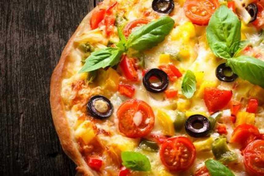 Pizza di farina di farro