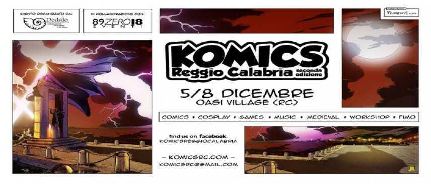 Al via la seconda edizione del Komics a Reggio Calabria