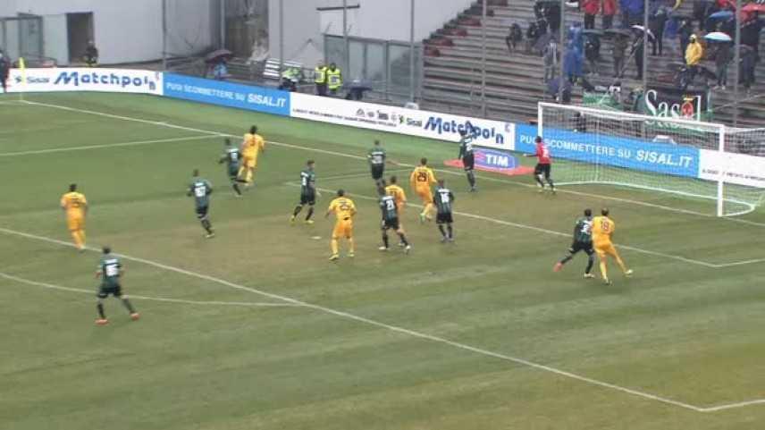 Sassuolo-Hellas Verona, i gialloblù sconfitti a Reggio Emilia