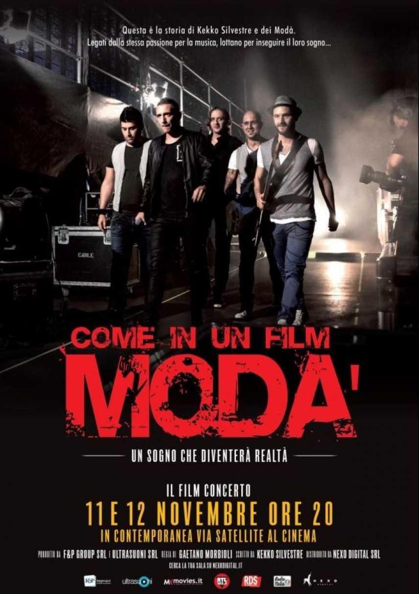 """MODA', per la prima volta al cinema:""""MODÀ-COME IN UN FILM"""" nelle sale l'11 e il 12 Novembre"""