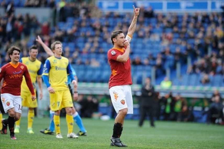 Roma-Chievo 3-0, i giallorossi dominano all'Olimpico