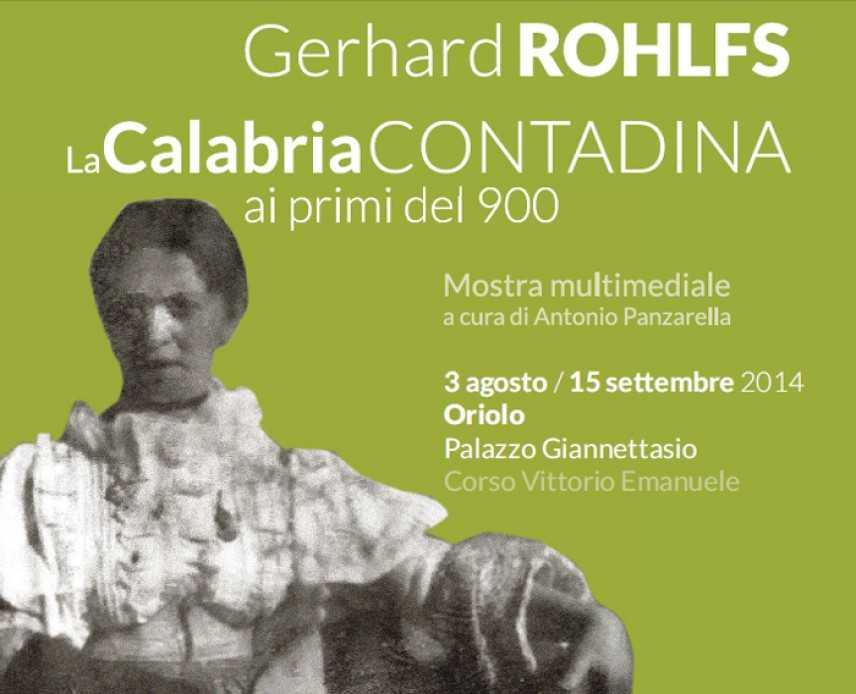 In Art -Gerhard ROHLFS,  La Calabria contadina ai primi del '900