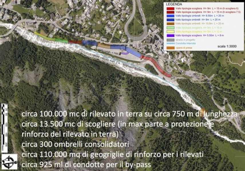 Mont de la Saxe, messa in sicurezza prorogata in ottobre