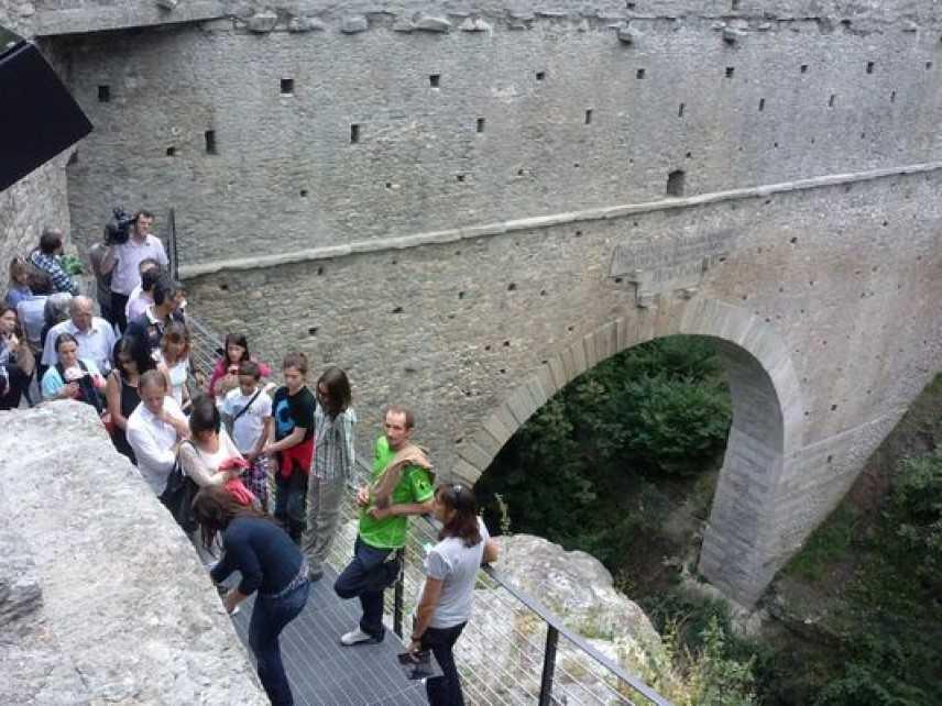 Riaperto al pubblico l'acquedotto romano di Aymavilles