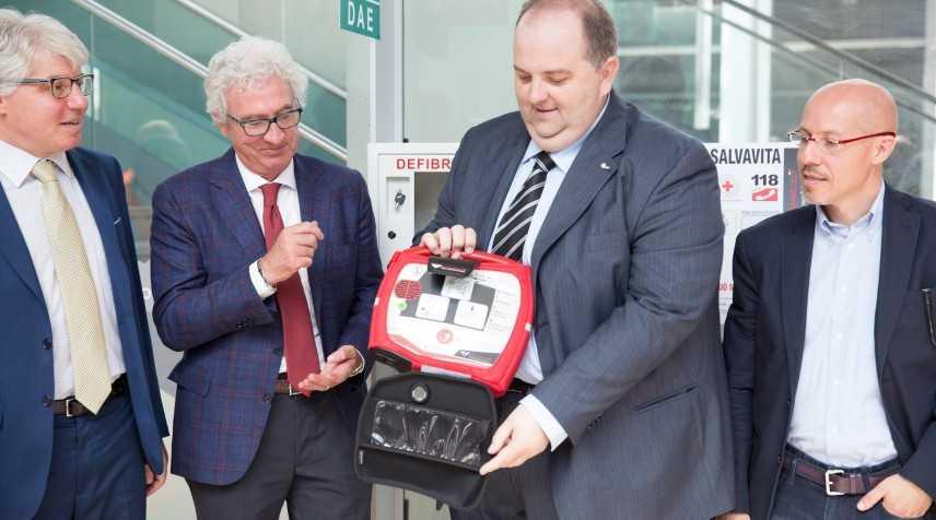 Torino: 4 stazioni della Metropolitana dotate di defibrillatore