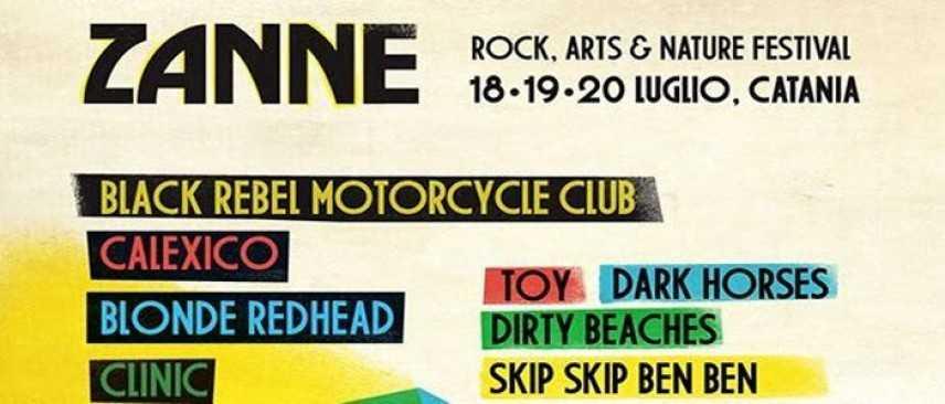 Parte stasera il festival catanese Zanne 2014