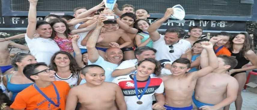 La Fimco e le giovani medaglie del nuoto pugliese