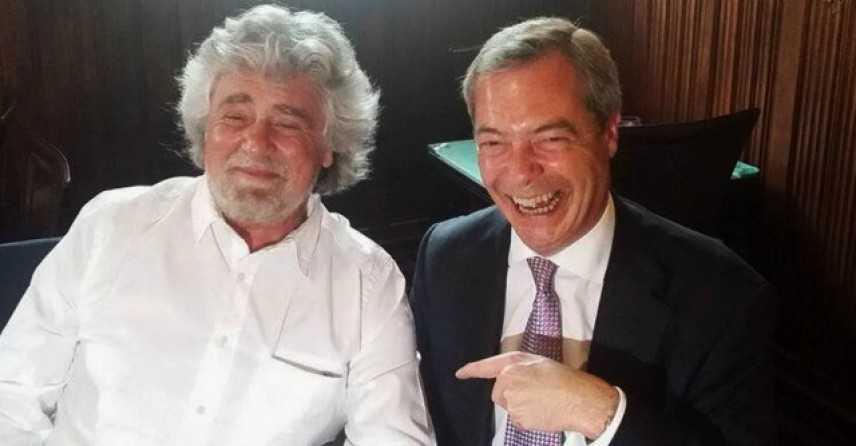 Con 23.121 voti i grillini scelgono Farage