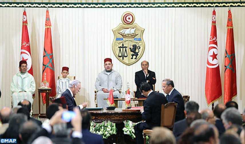 Tunisia - Marocco, firmate 23 convenzioni di cooperazione bilaterale
