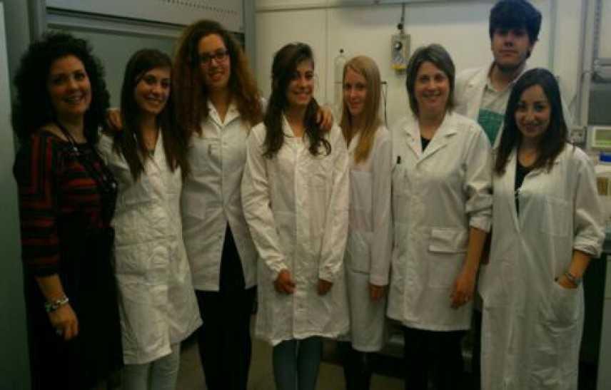 Nei laboratori Arpacal gli Studenti dell'ITAS Chimirri di Catanzaro