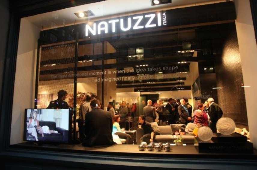 Natuzzi apre un nuovo negozio a New York