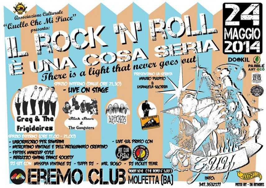 Torna la seconda edizione de IL ROCK N ROLL E' UNA COSA SERIA