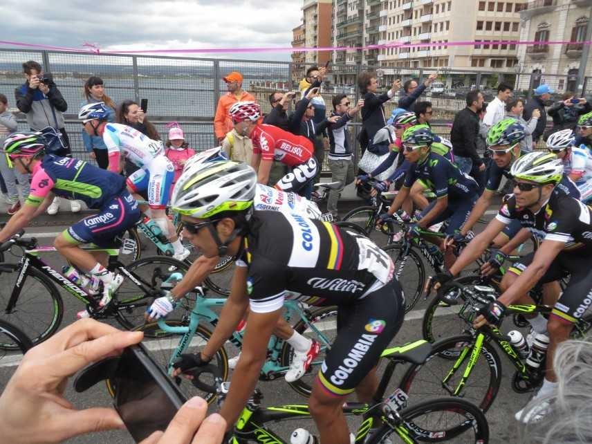 Taranto quinta tappa del Giro D'Italia