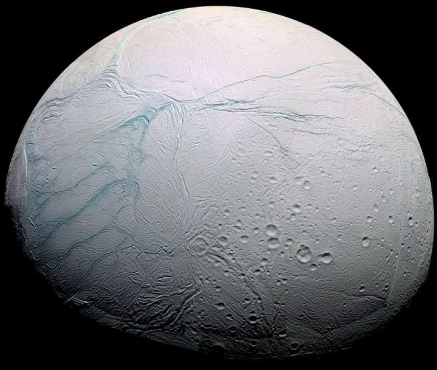 Il mare sotto il ghiaccio di Encelado
