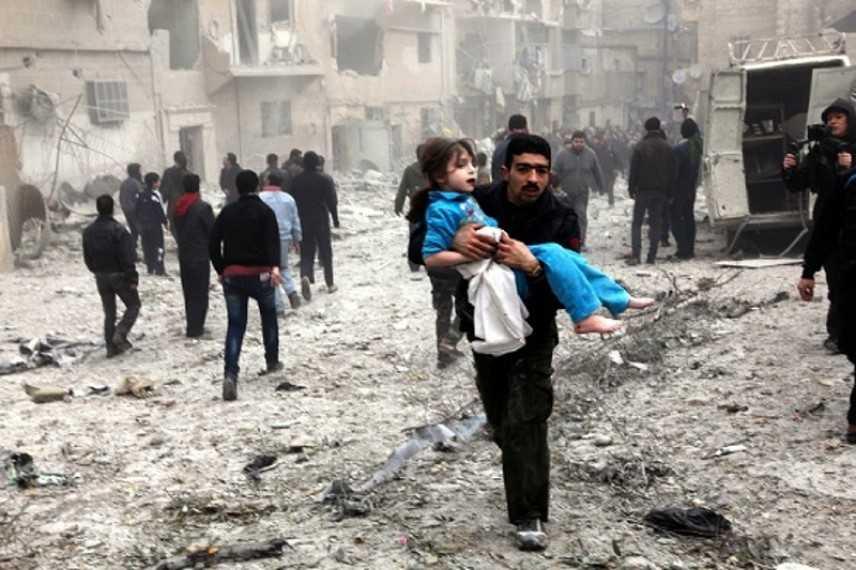 Emergenza Siria: 5,5 milioni di bambini colpiti dal conflitto