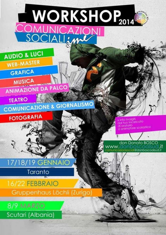 """Workshop al REDENTORE di Bari:  ragazzi a lavoro nel calendario dal titolo """"Oltre il tuo Sguardo"""""""