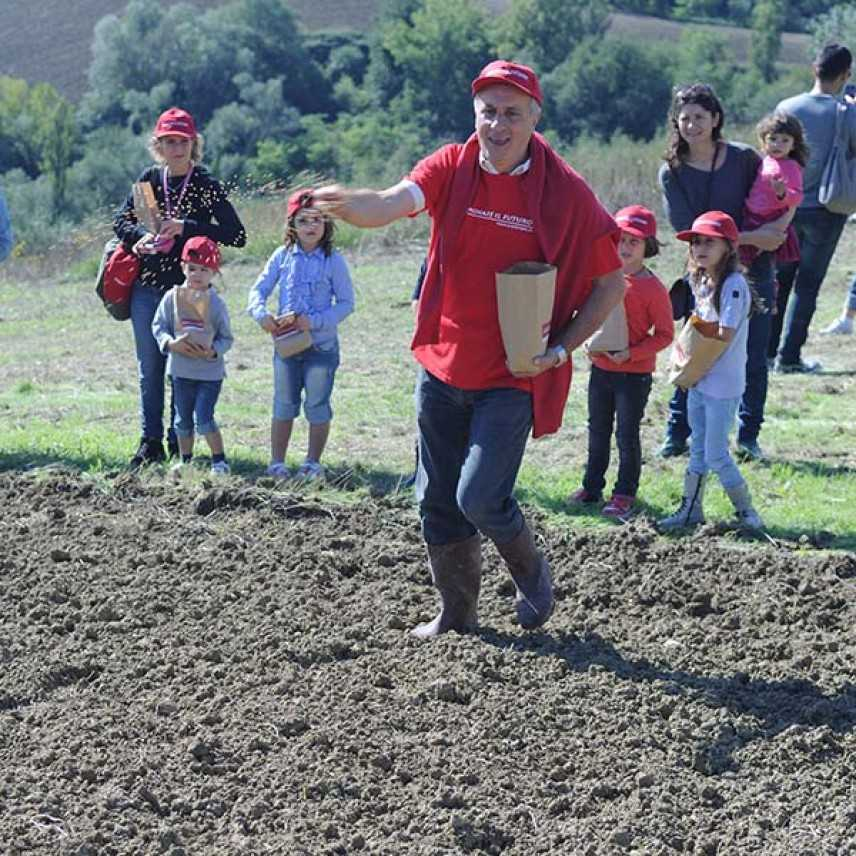 Seminare il futuro vi da appuntamento presso 26 aziende agricole Bio da Nord a Sud